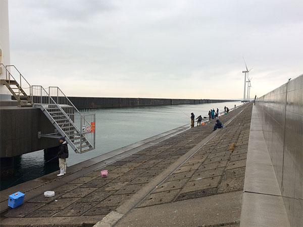 酒田北港水路のハタハタ釣り情報(2017.12.22)