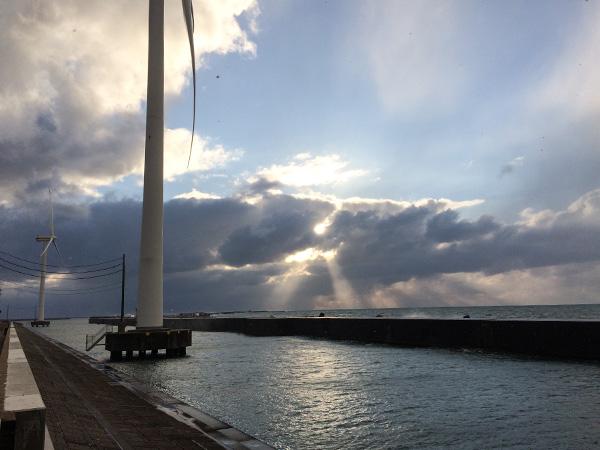 酒田北港水路のパトロール(ハタハタ釣り情報2018.1.4)
