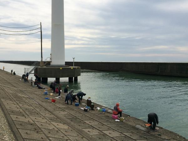 酒田北港水路ホッケ釣り2018.04.05