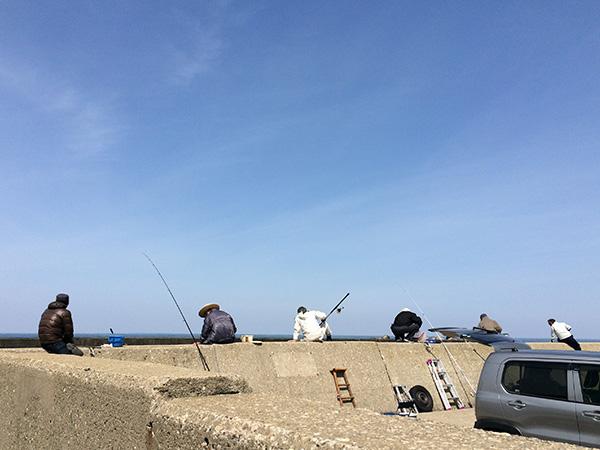 ホッケ釣りin酒田北港水路&火力岸壁(2018.4.10)