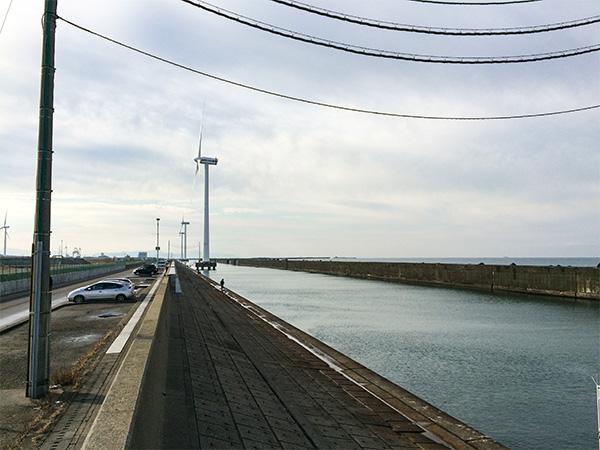 酒田北港水路