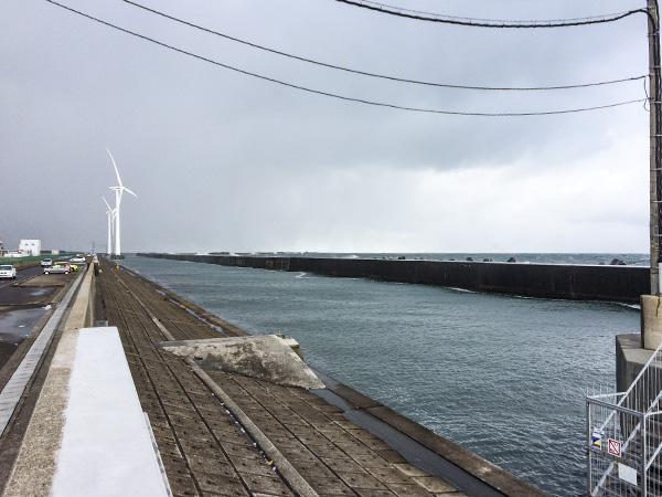 酒田北港水路2018.12.24