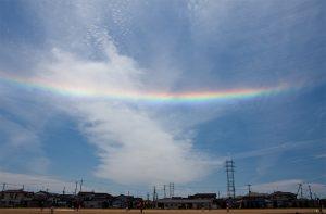 雨が降っていない虹 その2 20130518