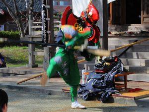 鵜渡川原まつり 天狗舞 2011.4.18