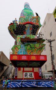 酒田祭り 山鉾2010